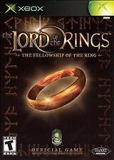 *NEW* THE LORD OF THE RINGS:  The Fellowship of the Ring XBOX Game SEALED