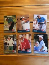 1991 Pro Set Lee Trevino Chi Chi Rodriguez Arnold Palmer Greg Norman Lot Of 6
