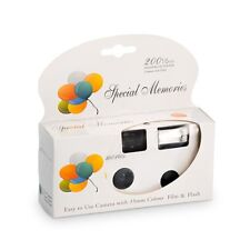Disposable Cameras with Flash White with Balloon Design