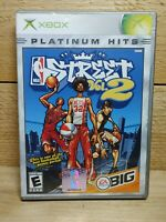 NBA Street Vol. 2 (Microsoft Xbox, 2003) Platinum Hits Complete Tested