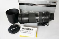Tamron SP 150-600 mm F/5.0-6.3 VC Di USD Objektiv für Nikon - Schwarz (A011N)