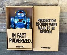 ROBOTIX ROBOT SPACE SCIENCE FICTION Lights Up Toy Action Figure United Vintage