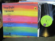 THE BAND LP STAGE FRIGHT ORIGINAL ROBERT LUDWIG '70 sterling stamp stagefright