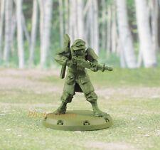 K744 Dust Tactics Allies Rangers Command Squad Boss Soldier Figure Toy Model