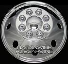 "1 - 16.5"" CHROME RV MOTORHOME Dual Wheel Simulators Rim Hub Cap Covers Van Truck"