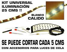 Tr3ns Kit iluminación Universal (DC, AC y DCC). Blanco cálido. 50 cms. Cortable.