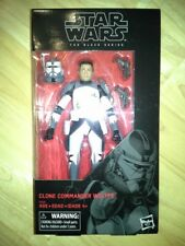 Star Wars Black Series 6 inch Clone Commander Wolffe NEW IN HAND