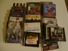 choose 1 CD from lot-rock- MEAT LOAF/STATUS QUO/AEROSMITH/BLONDIE/ELO/ SMITHS...