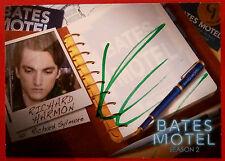 BATES MOTEL - RICHARD HARMON, Richard Sylmore [GREEN INK] Autograph Card - ARH1
