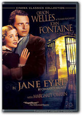 Jane Eyre DVD New Orson Welles Joan Fontaine Margaret O'Brien