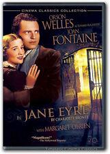 Jane Eyre DVD New Orson Welles, Joan Fontaine, Margaret O'Brien