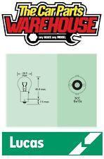 10 x (ten) Lucas 382 Stop / Brake light One Filament Bulb (LLB382) 12v 21w