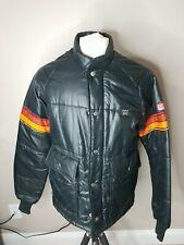 Vintage Simpson Racing Puffer Jacket Drag Racing Medium Simpson Safety Equipment