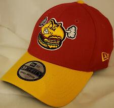 NWT New Era Hartford YARD GOATS Steamed Cheeseburgers 39THIRTY MiLB cap hat