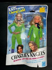 "CHARLIES ANGELS CHERYL LADD (KRIS) DOLL - 9"" - HASBRO -  SEALED ON CARD"