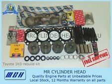 Toyota Hilux Hiace Prado Landcruiser 1KD-FTV Engine Rebuild Kit Diesel 1kdftv