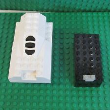 Lego Electric Light & Sound Space Shuttle Engine & 9v battery box 30351c01 6761