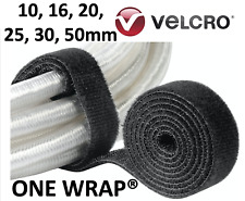 Black 1-25 metre Velcro® ONE WRAP® 10 16 20 25 30 50mm Strap Hook Loop tape tie