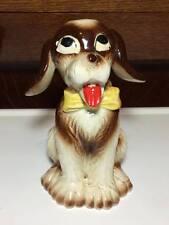 Vintage Maso Shafford Ware ceramic dog coin bank made in Japan