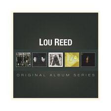 LOU REED - ORIGINAL ALBUM SERIES  5 CD  MAINSTREAM ROCK  NEU