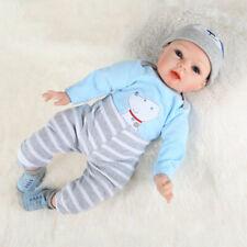 22'' Lifelike Reborn Baby Girl Doll Handmade Newborn Dolls Clothes Xmas Gifts