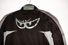 Motorradjacke BERIK - Schwarz mit Grau, Größe 56, mit Orginal -Kleidersack