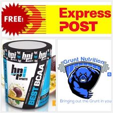 BPI Sports Best BCAA Passion Fruit  Flavour 30 Serves Promotes Strength & Muscle