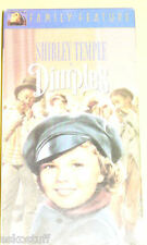 Dimples Classic Shirley Temple VHS Tape!e Nice See!