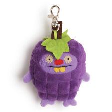 NWT UglyDoll Ugly Fruits-Trunko Grape Plush Clip On Toy