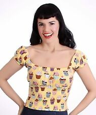 Rockabilly Blouse Vintage Tops & Shirts for Women