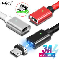 Magnetic Fast Charging Cable For Android Micro USB Charger Cord for Samsung S7