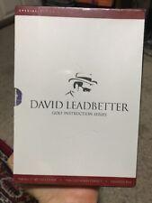 New David Leadbetter Golf Instruction - 3 DVD SET, Good DVDs