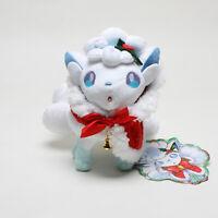 Pokemon Center Japan Original Vulpix Alola Christmas 2017 Soft Plush Toys Doll