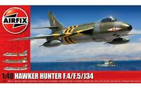 Airfix A09189 Hawker Hunter F.4/F.5/J34 Set 1:48 Plastic Model Kit New & Sealed