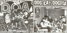 """D.O.A. / DOG EAT DOGMA Nervous breakdown / Durst und Wurst 7""""Vinyl (1999 Empty)"""