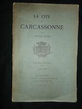 La cité de Carcassone - Guide 1902 - Victor Boyer - Plauzolles