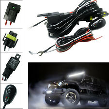 H11 H8 H9 Relay Harness Wire LED Switch ON/OFF For HID Worklights Fog Lights