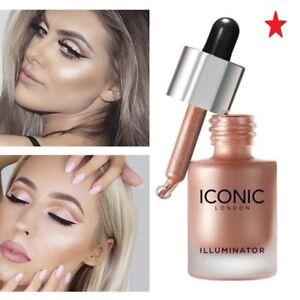 Face Illuminator Oil Glow Liquid Concealer Highlighter Makeup Shimmer ICONIC-...