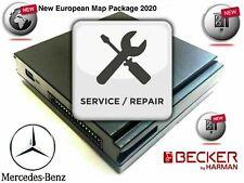 REPAIR SERVICE Becker Map Pilot Mercedes GPS Navigation Module