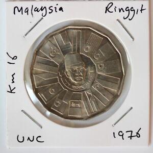 Malaysia 1 Ringgit 1976  UNC (SH4/49)