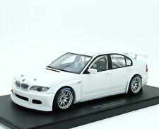BMW 320i E46 WTCC 2005 Plain Body - weiß white blanc blanco - AUTOart 80548 1:18