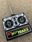 Vintage Tyco Fast TRAXX RC REMOTE 9.6V Turbo 49 MHz CONTROL ONLY