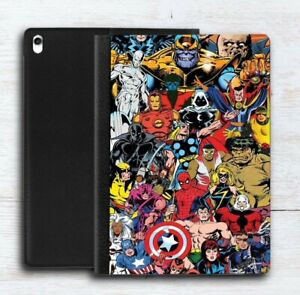 Marvel iPad Case Leather Flip Case for iPad 2020 / iPad Air / iPad mini