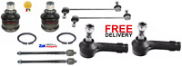 FOR FORD FIESTA FRONT 2 BALL JOINTS + 2 LINKS + 2 OUTER + 2 INNER TRACK ROD ENDS