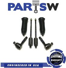 6 Pc Steering Kit for Explorer & Mountaineer 4.0L V6 Tie Rod Ends & Gear Bellows