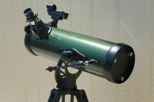 Celestron ExploraScope 114AZ Telescope for Astronomy, Birding w/ Starry Night