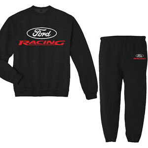 Ford Racing Decal Design Mustang Sweatpants Sweatshirt Sweats Gifts for Men
