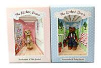 Lot of 2 Gund The Littlest Bears Miniature Jointed Teddy Bears 7003 & 7007
