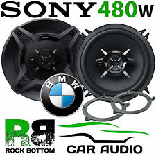 BMW 3 Series E46 1999-2005 SONY 13cm 480 Watts 3 Way Rear Shelf Car Speaker Kit