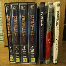 Futurama DVD Complete Season 1-7 - Like New - Simpsons Creator